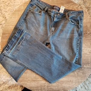 Levi's 515 Stretch Low Rise Boot Cut Jeans Size 16
